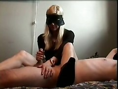 homemade handjob masturbation fetish boots leather