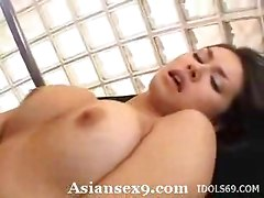 Maria Ozawa Naughty Asian Slut Enjoys Getting A Gangbang
