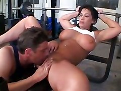 holly body brunette nice ass milf gym wor big tits
