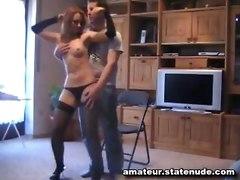 girlfriend panties amateur sextape homemade tits blowjob handjob cumshot