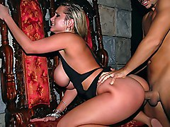 blonde  ass  big ass  from behind  big tits  bouncing tits  harder  scream Alanah Rae  Voodoo