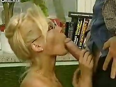 Lonely Housewife Gets Double The Fun