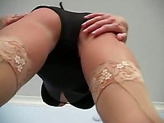 Playtime Pantyhose Stockings Tease Solo Masturbation StripSolo Other Fetish Babes Feet