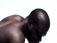 Black Anal Sex Blowjobs Anal Licking Hardcore Guy On Guy Cum on Stomach