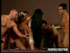 latina creampie gangbang breeding fertile