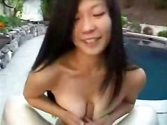 Tight mouth asian girlfriend blows my cock   asian amateur blowjob hardcore