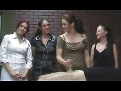 Femdom Group Sex Handjobs