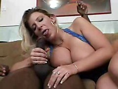 Sara Jay Sucks Some Black Cock