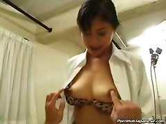 Japanese Doctor Giving A Blowjob