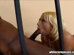 panties tight blonde ass teasing cameltoe kissing ass licking interracial blowjob handjob deepthroat face fuck gagging spanking pussylicking pornstar